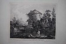 Originaldrucke (bis 1800) mit Landschaft für Radierung