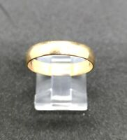 (N05660) 18K Yellow Gold Band