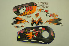 """14"""" RALEIGH MX14 DECAL TRANSFER SET,STICKER PACK SUIT OTHER BIKES WTFRX14"""