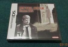 Nintendo DS - Hotel Dusk: Room 215 ~ Brand New Factory Sealed Game ~