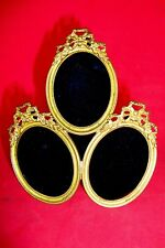 French style bronze frame. tryptic Free Shipping Worldwide /