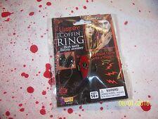 Vampire Coffin Ring Punk Halloween Gothic Adjustable New