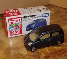 Maquette de voiture TAKARA TOMY Daihatsu Move 1:57 neuf dans sa boîte GIUGIARO blaumetallic auto 2011 n3