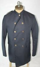 AUTH $1895 Gucci Men Navy Bonded Canvas Coat 56/2XL