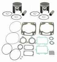 2001 2002 Arctic Cat Mountain Cat 800 SPI Pistons Top End Gasket Kit Std 81mm