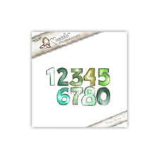 Magnolia Rubber Stamps Numbers, NEW