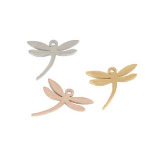 Wholesale 20pcs/lot Stainless Steel Charms Dragonfly Pendents for Jewelry Make