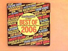 BOITIER 3 CD / LES INROCKUPTIBLES PRESENTENT BEST OF 2006 / 50 TITRES / TB ETAT