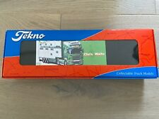 Tekno Chris Waite Transport Truck & Pezzaioli Livestock 1/50