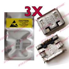 3 x New Micro USB Charging Sync Port For Nokia N85 N86 N82 N81 5800 N97 E71 USA