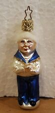 Old World Inge Ornaments Christmas Small Sailor Boy Nos vintage Rare