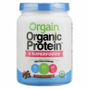 Organic Protein & Superfoods Creamy Chocolate Fudge 1.1