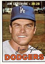 1967 Topps 260 Jim Lefebvre EX-MT #D391116
