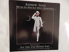 """Andrew Gold """"Never Let Her Slip Away"""" PICTURE SLEEVE! NEW! ONLY NEW COPY ON eBAY"""