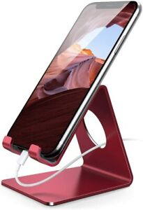 Lamicall Cell Phone Stand, Phone Dock: Cradle, Holder, Stand (Non-Adjustable)