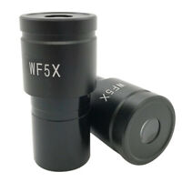 WF5X 20mm Wide Field Eyepiece for Biological Microscope Mounting 23.2mm Ocular