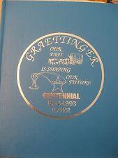 Graettinger Iowa 1893 1993 centennial book NEW HUGE