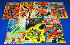 EXCALIBUR Issues 100 - 106 [Marvel 1996] VF/NM or Better