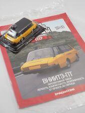 1/43 USSR Deagostini Altaya/IXO VNIITE-PT Taxi diecast model with magazine