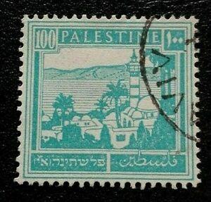 Palestine:1927 -1942 Tiberias 100 M. Rare & Collectible Stamp.