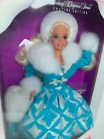 WINTER RENAISSANCE BARBIE DOLL MATTEL MADE IN MALAYSIA 1996 VINTAGE NIB NRFB