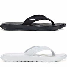 New Women's s Nike Ultra Celso Thong Sandals Flip-Flops White Slides Sizes 6-11