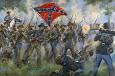 Mark Maritato Civil War PROCTOR'S CREEK Confederate S/N Artist Proof Paper Print