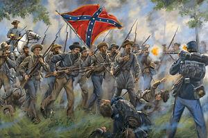 Mark Maritato Signed Limited Edition Civil War Art Print Proctor's Creek 22x17