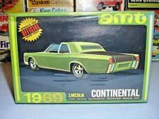 AMT 1969 LINCOLN CONTINENTAL ANNUAL #Y907-200 MPC MINT FACTORY SEALED MODEL KIT