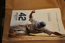 "42 Jackie Robinson Movie Poster-One-sided, full-color poster measures 11""x 17"