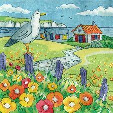 Heritage Crafts Cross Stitch Kit - Poppy Shore
