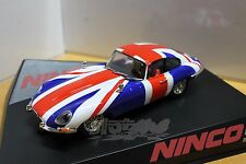 NINCO 50620 Jaguar E-type Coupe Union Jack 1/32 #NEW
