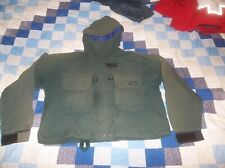 Patagonia Classic Kayak Gore-tex Parka Jacket Coat Green Awesome Vintage READ M