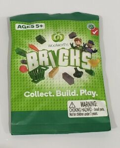 Woolworths Bricks Collectables Packs Choose from 1 to 12 Packs BLIND BAGS