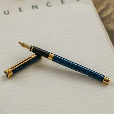 Montblanc Noblesse Blue Marble Fountain Pen