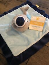 NEW Bananafish Studio Sailor WHALE Baby Lovey Blue Security Blanket Plush