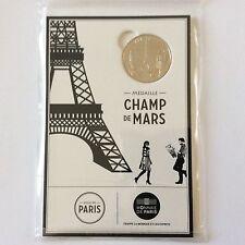 Blister d'une médaille touristique Champs de Mars en cuivre et nickel 2016
