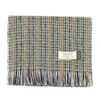 Men's Irish Muckross Mucros Donegal Wool Tweed Scarf Green dt31
