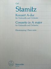 Stamitz - KOnzert A-Dur - Cello und Orchester, Klavierauszug