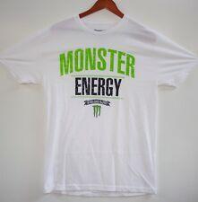 MONSTER ENERGY DRINK ESTABLISHED IN 2002 WHITE TAB REDEMPTION T-SHIRT M