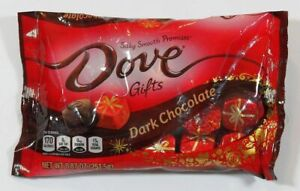 2x DOVE PROMISES LIMITED EDITION HOLIDAY GIFTS DARK CHOCOLATE CANDY 8.87 oz BAGS