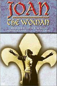 Joan the Woman DVD 1916 Cecil B. DeMille Movie War Drama - VERY RARE SNAPCASE