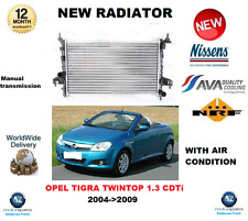 FOR OPEL TIGRA TWINTOP 1.3 CDTi 2004-2009 NEW COOLING RADIATOR ** OE QUALITY **