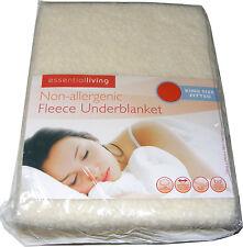 Tamaño King Ajustada no alergénico Interior Manta Protector de colchón cubierta