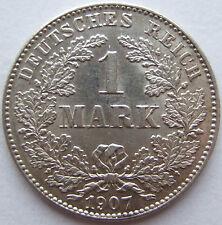 TOP! 1 Mark 1907 G in VORZÜGLICH / STEMPELGLANZ !!!