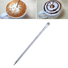 Barista Coffee Latte Espresso Decorating Art Pen Stainless Steel Household