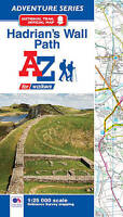 Hadrian's Wall Path Adventure Atlas by Geographers A-Z Map Company Ltd | Paperba