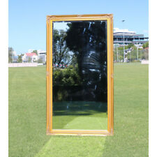 Wooden Mirror Large Gold Bevelled wall mirror & Frame Antique 137CM X 76CM