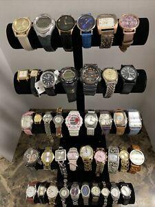 Huge Quartz Watch Lot - Citizen, Casio, Timex, Armitron, +More-41 Watches!