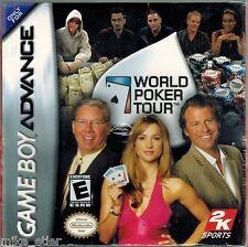 World Poker Tour (Nintendo Game Boy Advance, 2005) Factory Sealed